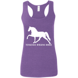 Tennessee Walking Horse (Pleasure) with letters G645RL Gildan Ladies' Softstyle Racerback Tank