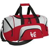 Love (Saddlebred) - Copy BG990S Small Colorblock Sport Duffel Bag