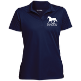 Missouri Fox Trotter LST650 Women's Micropique Tag-Free Flat-Knit Collar Polo