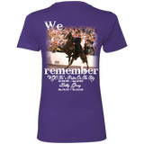 We Remember Ritz and Billy (front) NL3900 Next Level Ladies' Boyfriend T-Shirt