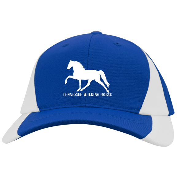 Tennessee Walking Horse (Pleasure) with letters YSTC11 Youth Mid-Profile Colorblock Cap