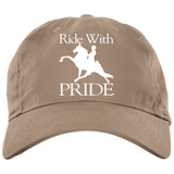 RIDE WITH PRIDE BX001 Brushed Twill Unstructured Dad Cap