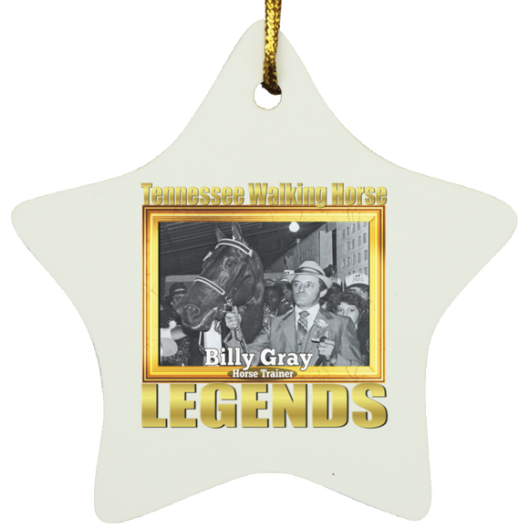 BILLY GRAY (Legends Series) SUBORNS Star Ornament