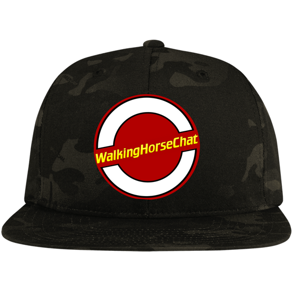 WHC LOGO 2020 (2) STC19 Flat Bill High-Profile Snapback Hat