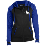 Tennessee Walking Horse (Performance) LST236 Sport-Tek Ladies' Sport-Wick® Full-Zip Hooded Jacket