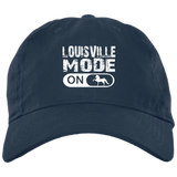 LOUISVILLE MODE final 782017 BX880 Twill Unstructured Dad Cap