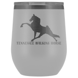 Tennessee Walking Horse (Performance) Wine Tumbler