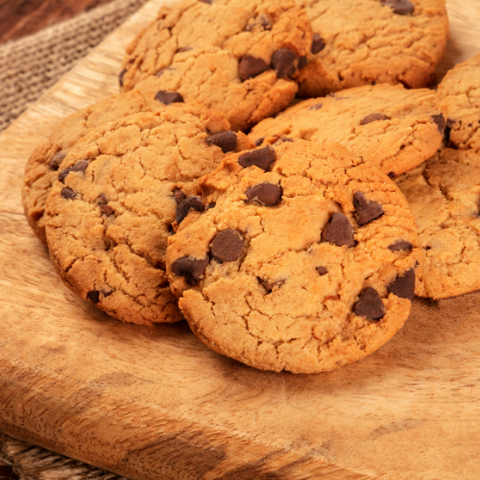 No Guilt Treats Gluten Free Chocolate Chip Cookies