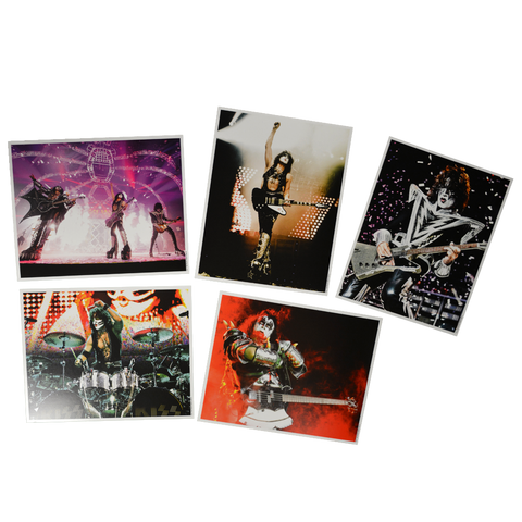 KISS High Gloss Concert Images