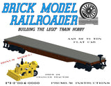 AAR 53' 70 Ton Flat Car Premium Instructions