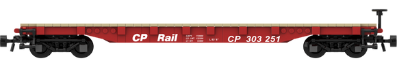 Canadian Pacific Decals for the AAR 53' Flat Car