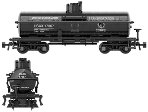 US Army Transportation Corp Decals for the ACF Type 27 Tank Car