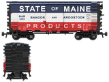 Bangor & Aroostook State of Maine Decals for the Pullman PS-1 Boxcar