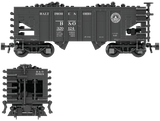 Baltimore & Ohio Decals for the USRA 55-Ton Hopper
