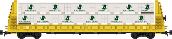 Bohemia Lumber Load Decals for the Thrall 61'-1