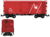 Central New Jersey Decals for the Pullman PS-1 Boxcar