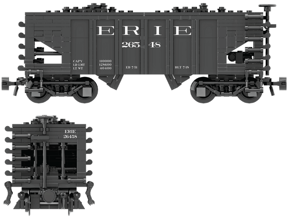 Erie Decals for USRA 55-Ton Hopper