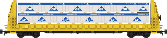 Georgia Pacific Lumber Load Decals for the Thrall 61'-1