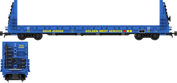 Golden West Service Decals for the Thrall 61'-1