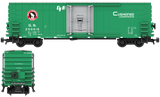 Great Northern Decals for the PCF 50' Insulated Boxcar