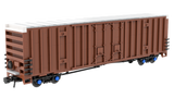 Gunderson 60' High Cube Plate F Boxcar Premium Instructions