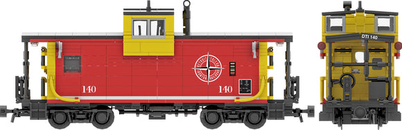 Detroit Toledo & Ironton Decals for the ICC Extended Vision Caboose