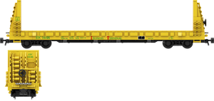 "Illinois Terminal Railroad Decals for the Thrall 61'-1"" Bulkhead Flatcar"