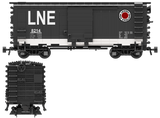 "Lehigh & New England ""1956"" Decals for the Pullman PS-1 Boxcar"