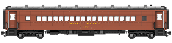 Maine Central Arch Roof Coach Decal Set