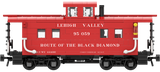 "Lehigh Valley ""Route Of The Black Diamond"" Decals for the Northeastern Caboose"