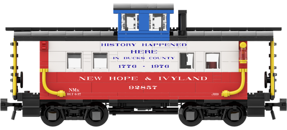 New Hope & Ivyland (Bicentennial Scheme) Decals for the Northeastern Caboose