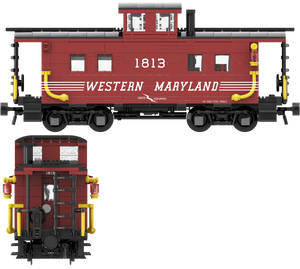 "Western Maryland ""Speed Letter"" Decals for the Northeastern Caboose"
