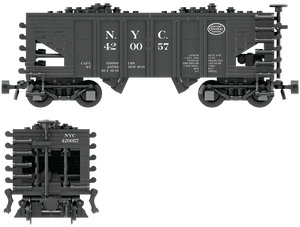 New York Central Decals for the USRA 55-Ton Hopper