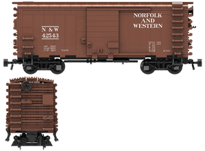 "Norfolk & Western ""As Delivered"" Decals for the Pullman PS-1 Boxcar"