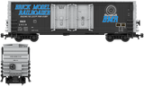 Brick Model Railroader Decals for the PCF 50' Insulated Boxcar