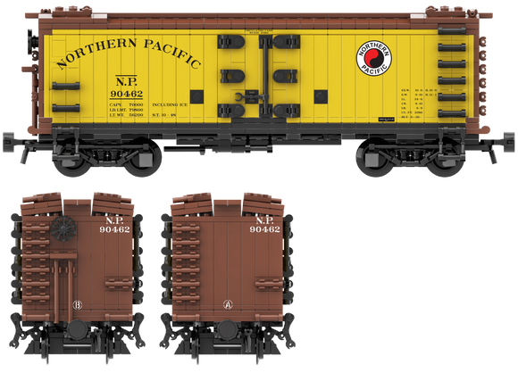 Northern Pacific Decals for the R-30-9 and R-40-9 Reefer