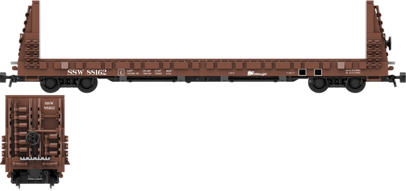 Southern Pacific Cotton Belt Decals for the Thrall 61'-1