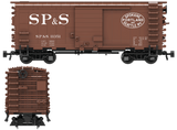 "Spokane Portland & Seattle ""1960's Scheme"" Decals for the Pullman PS-1 Boxcar"