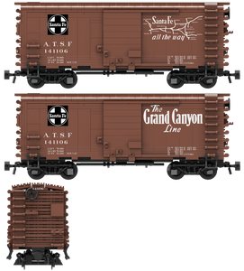 "Santa Fe ""Grand Canyon Line"" Decals for the Pullman PS-1 Boxcar"