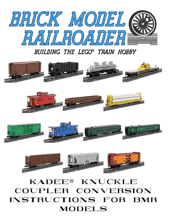 Printed Copy: Kadee Knuckle Coupler Conversion Instructions for BMR Models
