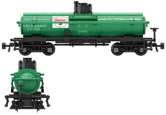 Sinclair Oil Decals for the ACF Type 27 Tank Car