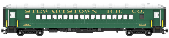 Stewartstown Railroad Co. Arch Roof Coach Decal Set