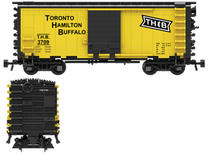 Toronto Hamilton & Buffalo Decals for the Pullman PS-1 Boxcar