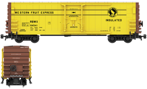 Western Fruit Express Decals for the PCF 50' Insulated Boxcar