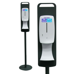 Automatic, Floor Standing Dispenser for Triton Hand Sanitizer