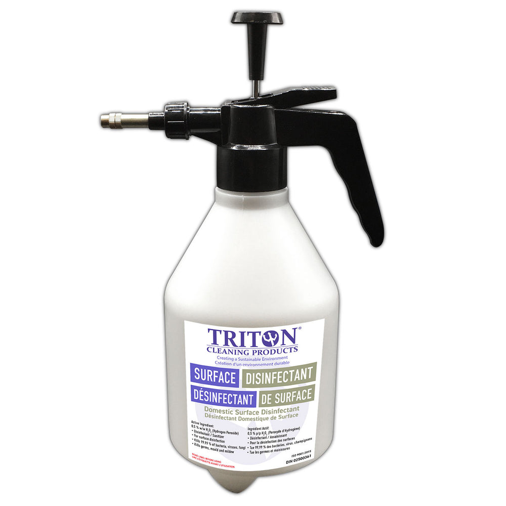 Pump Spray Dispenser for Triton Surface Disinfectant