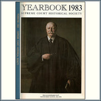 1983 Yearbook Supreme Court Historical Society