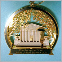 Ornament - 2011 Supreme Court Winter Scene