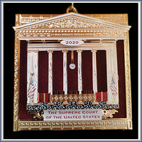 Ornament - 2020 Supreme Court Bench w/ Drapery