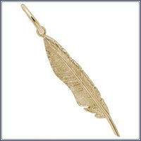 Charm - Quill Feather, GP
